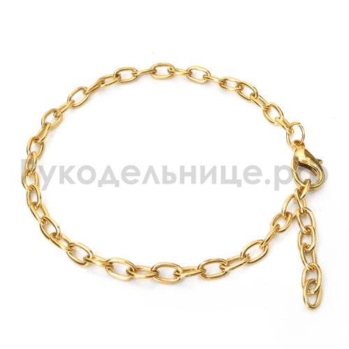 золотая фурнитура для браслетов